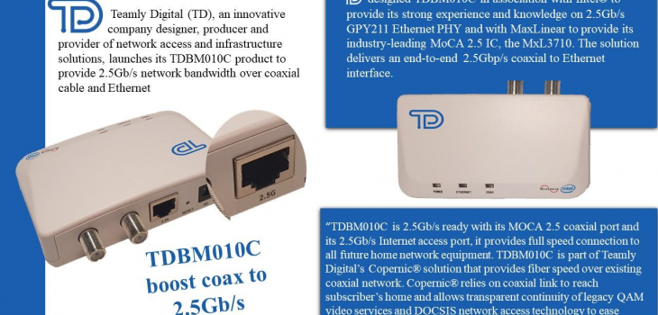Teamly Digital - TDBMC010 PR