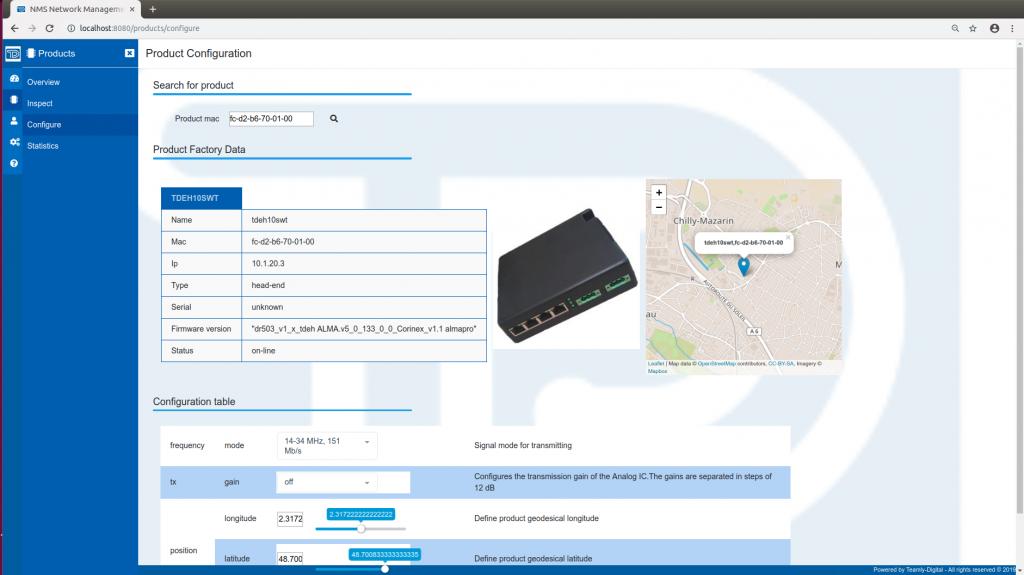 Teamly Digital TDNMS Configuration - Network Management System